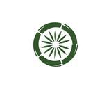 bamboo ilustration logo vector