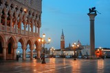 Venice St Marks square at night - 201624445