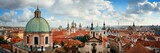 Prague skyline rooftop view dome - 201625693