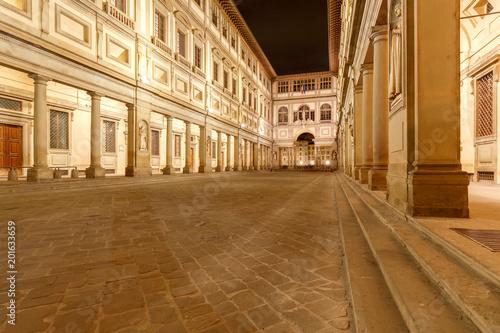 Fototapeta Florence. Gallery Ufizzi.
