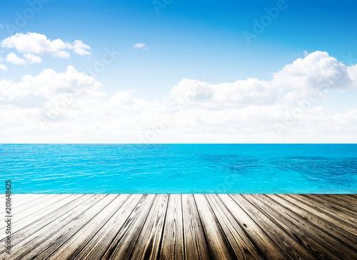 Aluminium Tropical strand Tropical island summer beach