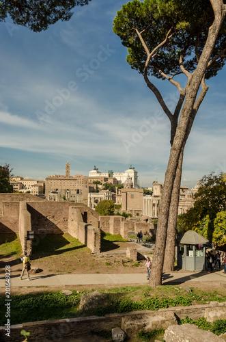 Ulica Emperial Forum w Rzymie, Włochy