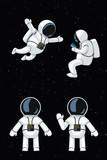 cartoon astronaut set - 201661056