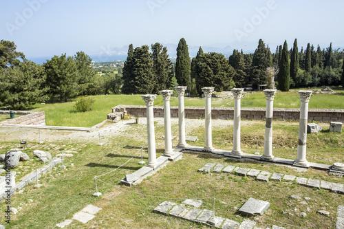 Kos island greece Asklepion Ancient city