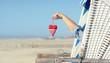 Quadro Romantik am Strand