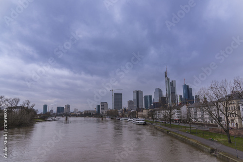 Foto Murales Frankfurt city, Germany.