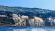 Quadro View of the coast in Sorrento, Italy.