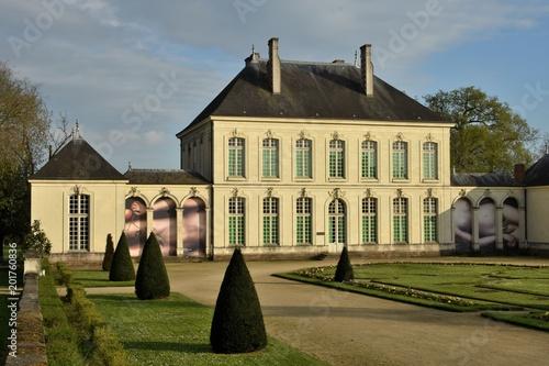 Foto Murales Jardin à la française et château du grand Blottereau, Nantes, France