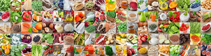 Hundred healthiest foods © PhotoSG