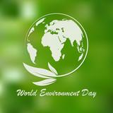 World Environment Day banner. Vector illustration. - 201786200