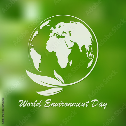World Environment Day banner. Vector illustration.