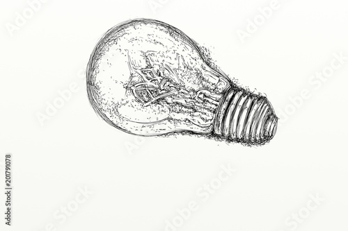 a light bulb for a new idea