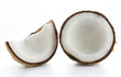 coconuts isolated on the white - 201797464