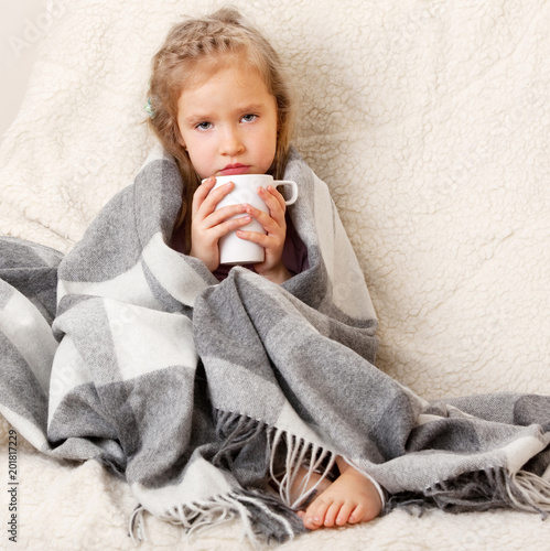 Foto Murales Illness child
