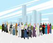 Arab business women - 201823008