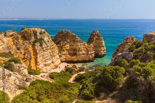 Foto Murales Beach near Lagos - Algarve Portugal