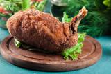 Chicken Kiev, breaded chicken breast - 201832684