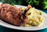 Chicken Kiev, breaded chicken breast - 201832853