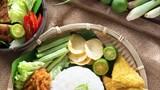 Southeast Asian food nasi ayam penyet - 201844210