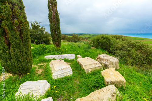 Plexiglas Cyprus Ancient ruins. Cyprus