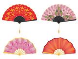 Oriental style fan - 201879292