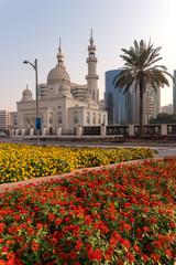Mosque Spring Dubai UAE