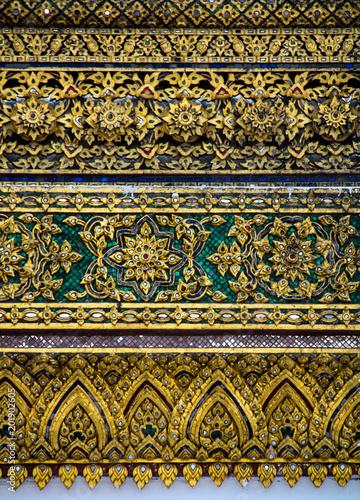 Foto Murales Royal Palace in Bangkok