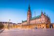 Leinwanddruck Bild - Hamburg - Germany