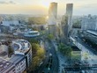 Leinwanddruck Bild - Panorama Berlin City West