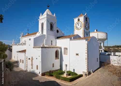 Church of St. Maria in the centre of Tavira, Algarve, Portugal - 201919070