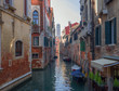 picturesque canal in one of the less famous districts of Venice