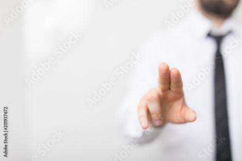 naciśnij palec