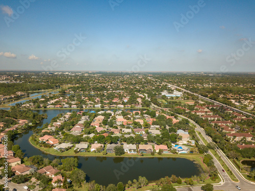 South Florida Urban Aerial Photography. - 201947681