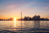 Toronto coucher de soleil - Canada - 201968807
