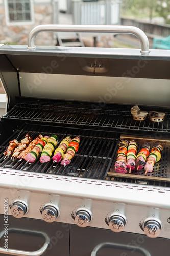 Foto Murales Veggie kebabs