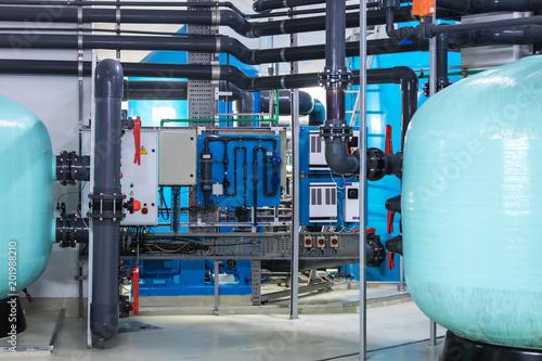 nowoczesny system filtracji i oczyszczania wody