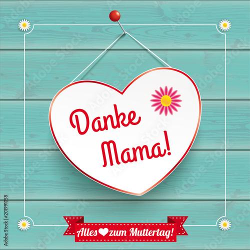 Herz Danke Mama - 201991058