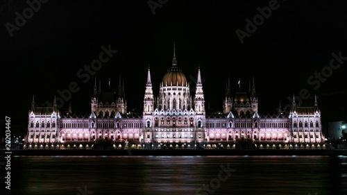 Canvas Boedapest Hungarian Parliament, Budapest