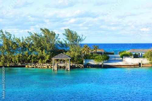 Aluminium Tropical strand Nassau, Bahamas
