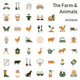 Farm & Animals - 44 Icons - 202041228