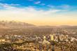 Beautiful Sunset in Salt Lake City, Utah - 202063826