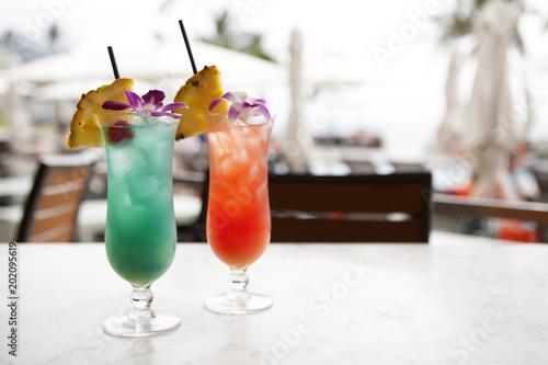 Foto Murales Tropical Drinks
