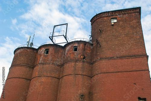 Fotobehang Oude verlaten gebouwen old factory