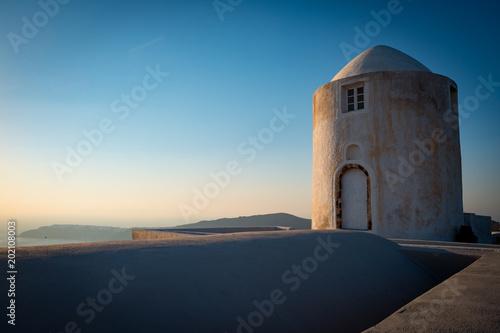 Plexiglas Santorini Overlook