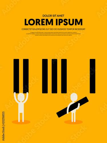 Fototapeta samoprzylepna Music retro vintage abstract poster background