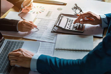 business accounting and finance concept