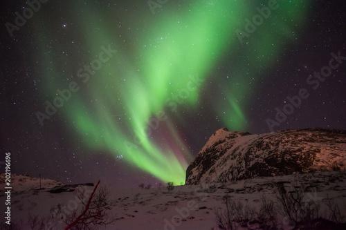 Fotobehang Noorderlicht Nothern Lights
