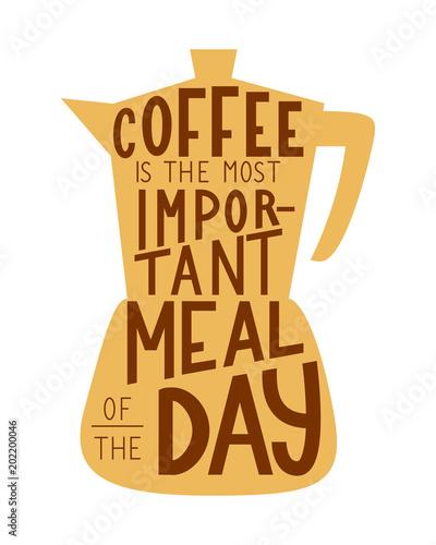 kawa-jest-najwazniejszym-posilkiem-dnia-reka-wektor-wytloczony-zwrot