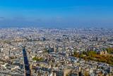 Panorama and aerial view of Paris - 202212491