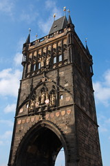 Old Town Bridge Tower at Charles Bridge in Prague
